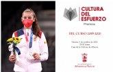 La medallista olímpica Adriana Cerezo, madrina de los V Premios a la Cultura del Esfuerzo