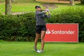 Clara Moyano, líder incontestable en el Santander Golf Tour La Coruna