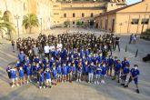 Las bases de fútbol y baloncesto UCAM celebran a San Miguel
