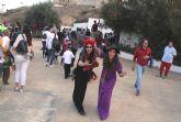 Los niños de Puerto Lumbreras celebran Halloween en la 'Cueva encantada'