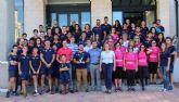 Palistas del Club de Piraguismo UCAMAsociación Deportiva Pinatarense suma un nuevo Record  Guinness