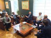 El Ayuntamiento estudia líneas de financiación para el sitio histórico de Monteagudo con el Instituto de Patrimonio Cultural de España