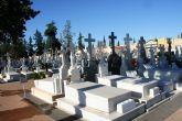 Desde hoy no se podrá hacer obras de arreglo en el interior del Cementerio Municipal 'Ntra. Sra. del Carmen' hasta que no pase la festividad de Todos los Santos
