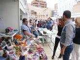 La iniciativa 'En Octubre, Cartagena es Feria' finaliza con el Encuentro Interasociativo Juvenil y el Mercadillo Artesanal