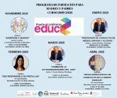 Varias charlas componen el programa de formación para madres y padres de Puerto Lumbreras para el curso 2019-2020