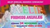 AELIP celebrará el próximo 24 de noviembre en Totana su GALA ANUAL DE PREMIOS