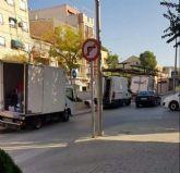 VOX Cieza propone acondicionar una zona de carga y descarga en beneficio de transportistas, comerciantes y vecinos