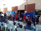 Cincuenta familias acudieron a jugar juntos convocados por la Escuela Municipal de Familia, en El Mirador