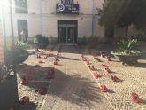 Concentración plaza del ayuntamiento 25 de noviembre 'día internacional para la eliminación de la violencia contra la mujer'