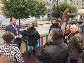 Murcia estrena el primer parque adaptado con pictogramas para niños y niñas con trastorno del espectro autista