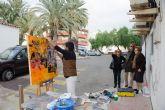 Mazarr�n posa este domingo para su XV certamen de pintura al aire libre