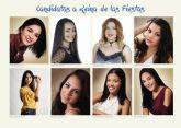 Candidatas a Reina de las Fiestas Patronales 2017