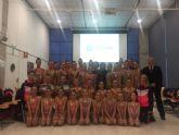 La consejera de Educación, Juventud y Deportes recibe al Club Cronos, medalla de plata en la Copa de España de Conjuntos Reina Sofía