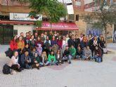 Estudiantes de Publicidad y Comunicación Audiovisual de la Universidad de Murcia, en la Gloria