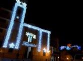 Puerto Lumbreras amplía el número de zonas con iluminación de Navidad