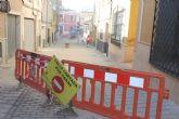 Finalizan las obras de renovación del tramo de red de saneamiento y abastecimiento de la calle San Ramón