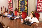 Cuatros colegios de Cartagena celebran su Pleno Infantil Municipal