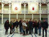 Los estudiantes de la UMU participantes en la iniciativa Todos somos Campus han visitado hoy la Asamblea Regional