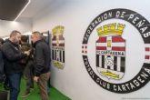 La Federación de Peñas del FC Cartagena estrena sede en el Cartagonova