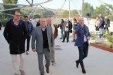 El alcalde visita el Centro de Interpretación del Cañón de Almadenes