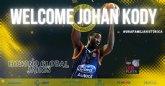 Johan Kody, nuevo refuerzo para el juego interior del Hozono Global Jairis