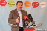 El Grupo Municipal Socialista agradece a los cuatro grupos de la Asamblea Regional el apoyo al municipio de Totana en los presupuestos regionales