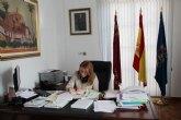 El alcalde, Diego Conesa, estar� varias semanas de baja por una operaci�n de espalda