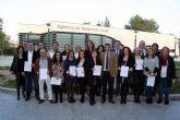 15 alumnos de entre 25 y 45 años obtienen el Certificado de Profesionalidad de Operaciones Auxiliares de Servicios Administrativos y Generales