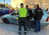 La Guardia Civil detiene al conductor de un turismo que se dio a la fuga tras atropellar al conductor de un ciclomotor en Moratalla