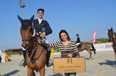 El jinete Mikel Aizpurua gana el Pequeño Gran Premio Aros