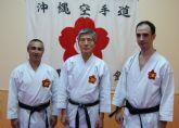 La Escuela Okinawense de Murcia celebra su 17° aniversario con la visita del 'padre' de kárate kid, Toshio Tamano