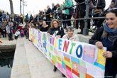 Cartagena homenajea a los fallecidos del exodo migratorio del Mediterraneo de 2016