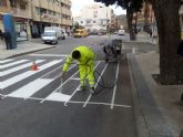 Mejora de la señalizaci�n horizontal en las calles del municipio
