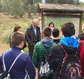 Cerca de 200 alumnos visitan en este curso las Canteras del Valle gracias al programa ´Murcia, ecología de una ciudad´