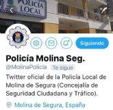 El Ayuntamiento de Molina de Segura crea un perfil de la Policía Local en la red social Twitter