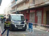 El Ayuntamiento de Murcia asiste a tres familias que han tenido que ser desalojadas por riesgo de derrumbe