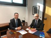 Reunión de AMUSAL con Diego Rodríguez- Linares Director del Info