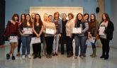 Entrega de diplomas del curso 'Estrategias de intervención en el ámbito de ocio y tiempo libre con personas con discapacidad'