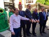 Los murcianos podrán colaborar en la decoración del nuevo pabellón infantil de La Arrixaca reciclando vidrio