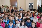 Estudiantes de Avila conocen el Palacio Consistorial