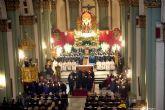 Los cofrades llenan Santa Maria de Gracia en la celebracion de la Salve Grande california