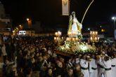 Fervor y silencio en la noche del Jueves Santo de San Pedro del Pinatar