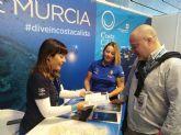 La Costa Cálida presenta sus fondos marinos en la feria 'More Aqua Show' de Madrid