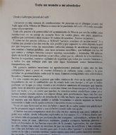 Una persona sin hogar relata en una carta su experiencia en el albergue El Valle