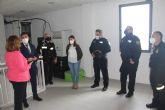 La dirección general de Emergencias instala un nuevo repetidor de comunicaciones en San Pedro del Pinatar