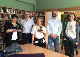 Alumnos y profesores del colegio La Aceña dan a conocer Mazarr�n en Hungr�a