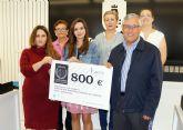 El 'Certamen Dama y Caballero de Murcia' recauda 800 euros para la AECC