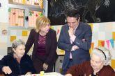 Familia amplía en siete plazas más la atención a los enfermos de Alzheimer de Alcantarilla, para el Centro de Día de AFADE