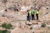 Comienzan las obras de la zona ajardinada del Monte Sacro tras encontrar una pileta romana