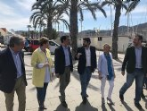 López Miras: 'Necesitamos devolver la dignidad a Cartagena con un proyecto como el del PP, que empuje y continúe liderando el crecimiento económico'